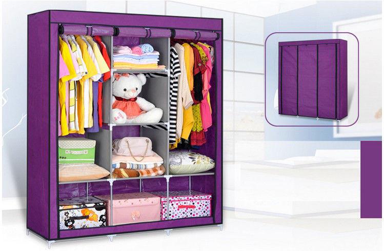 portable clothes wardrobe closet