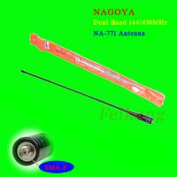 Nagoya NA-771 SMA Dual Band Radio Antenna For Wouxun KG-UVD1 KGUVD1P Baofeng UV-5R Walkie Talkie