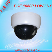 CCTV Plastic IR Security Full HD 1080P POE IP Dome Camera EC-IP5721P
