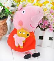 Cute Peppa Pig Plush Toys,Peppa Pig+George Pig Stuffed Peppa Plush Dolls Teddy Stuffed Toy Kids Gift b11 20011