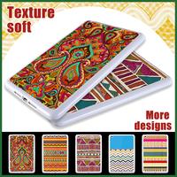 Silicone Case for ipad mini 2  Aztec  Cover for ipad mini 2 Protector Rubber housing mini2 Soft New white