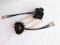 2X GOLF 7 HID Conversion Bulbs Holder Headlight adaptor Base H7 Adapters for VW Tiguan/Golf 7/Scirocco/Sharan/Touran