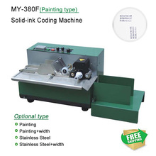 MY-380F ink roll Coding machine,card printer,produce date printing machine,solid ink code printer(Painting type)