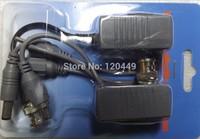BNC Video Balun Audio Power 4Pairs CCTV Audio Video Balun UTP twisted pair Power Transceiver