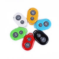 2pcs/Lot Wireless Bluetooth Remote Control Camera Shutter For Samsung S3 S4 Note Android phone for iphone 5S 4S 5C IOS
