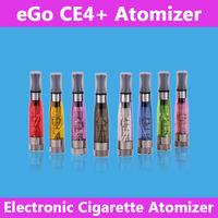 Electronic cigarette 1.6ml CE4 Atomizer CE4S Clearomizer e cigarette ce4+ cartomizer Compatible All ego battery 5pcs/lot
