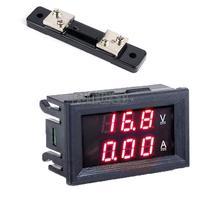 Top quality! 2014 New Arrival DC 0-100V 50A Dual Digital Voltmeter Ammeter Panel Amp Volt Gauge b4 CB026601