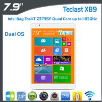 Teclast X89HD Intel Bay Trail-T 64 Tablet PC 7.9 inch IPS Retina Screen 2048X1536 Bluetooth GPS 2G RAM 32GB Support Windows 8 OS