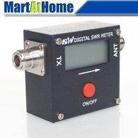 Free Shipping Mini Digital Power & SWR Meter 120W VHF/UHF for Yaesu FT-8800R/FT-8900R Two Way RF #BV287 @CF