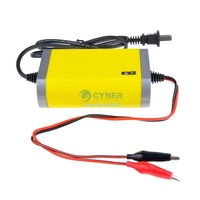 Portable Car Battery Charger 12v 2A Fully-automatic Car motorcycle battery charger Adaptor Power Supply US Plug SV18 SV005583