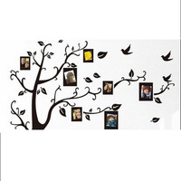 1PC Family Picture Photo Frame Tree Wall Quote Art Stickers 3D Stickers DIY Wall Stickers Home Decoration GI870495