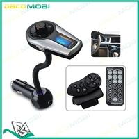 A2DP Bluetooth Handsfree Car Kit FM Transmitter Modulator Car Mp3 for iPhone iPod Pad Tablet Phone Call Mp3 Music Remote 20Pcs