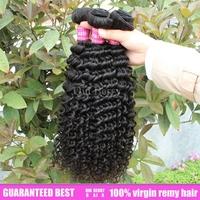 queen hair 14''~26''  kinky afro curly wave hair extensions 3 Bundle/lots  Queen berry virgin brazilian 5A Grade