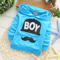 Free shipping Autumn New Hat BOY children casual hoodies,baby boys sweatshirt,boys t-shirt#Z619
