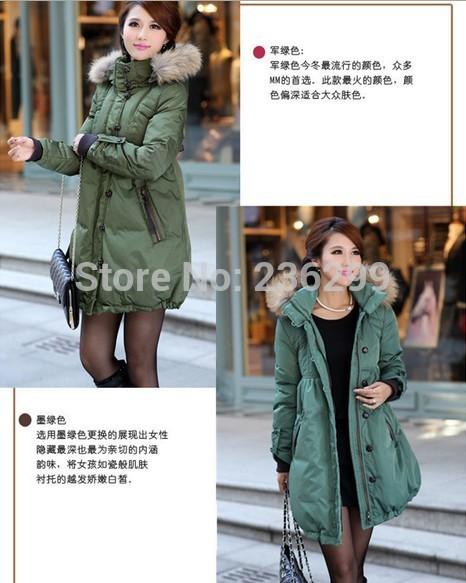 Vêtements de maternité manteaux vêtements manteau d'hiver pour les femmes enceintes duvet de canard blanc fourrure grande taille plus s-5xl vestes, pendant la grossesse