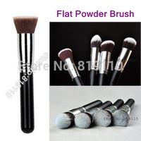 F80 Professhional Kabuki Brush Flat Makeup Brushes Powder Foundation Make Up Brush Cosmetic Face Basic Makeup Brushes Set Tools