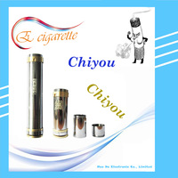 Stainless Steel Clone Mod Chiyou Mod  for 18350/18650 Battery VS King MOD Bagua Hammer Nemesis Kayfun E-Cigarette Ecigar