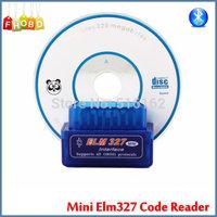 Super MINI ELM327 Bluetooth ELM 327 OBD2 Auto Code Reader MINI 327 Car Diagnostic Interface