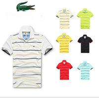 2014 the new brand of men's famous leisure T-shirt Lapel men's T-shirt short sleeve shirt camisa masculina size: M L XL XXL