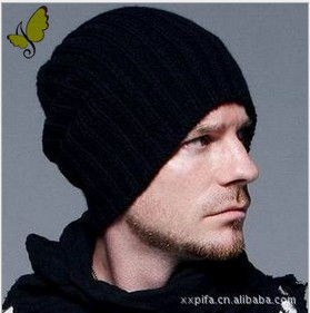 1pcs 2015 new Korean wool caps Winter fashion hats solid color knitted hats for men and women, multi-color, free shipping(China (Mainland))