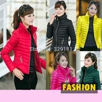 Ladies Thicken Cotton Jackets Coat 2014 Winter Coat Women Warm Large Size Fashion Casual Down Jacket  jaquetas femininas 2014