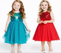 Retailer Elsa Dress + Crown Set Custom Movie Dress Girl Dress Frozen Princess Elsa Costume for Children Fashion Dress