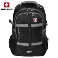 Swiss army knife business travel bag 15.6 inch black backpack fashion