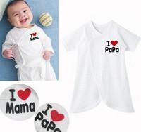 Hot Sale 2014 new Children kid pajamas baby rompers newborn baby set long sleeve underwear cotton babybodysuits Clothing set