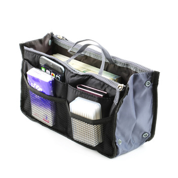 1 шт. леди женщины вставить сумочка организатор кошелек большой лайнер организатор мешок кругленькую TravelBrand новый
