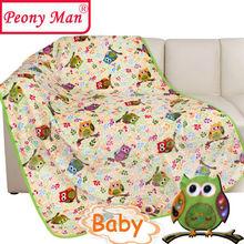 New Hot Flannel Baby Blanket 100*140 Kids Cartoon Super Soft Blankets Bebe Aircon Child Sheet Thick Warm Winter Fleece Cobertor(China (Mainland))