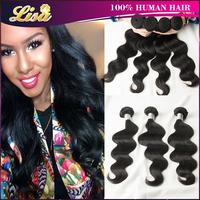 Best Selling 5A Brazilian Virgin Hair Body Wave 4pcs Brazilian Human Hair Weave Brazilian body wave Brazillian hair On sale