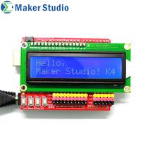 Makerduino I2C LCD Shield  diy  free shipping