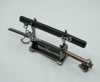 Bleach ichigo new black zangetsu key chain anime key chain BL09 delicate swords