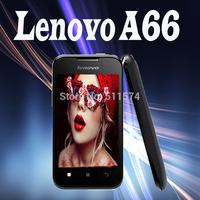 "Original Lenovo A66 3.5""inch TFT MTK6575 Dual Core 1024MHz WIFI GPS 3G WCDMA Android 2.3 480x320 pixels FM Gravity Sensor Tablet"