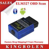 2015 High Quality 2 Years Warranty MINI ELM327 OBD2 Scanner ELM 327 Scan OBDII Support All OBD2 Protocols Diagnostic Scanner