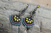 New fashion 2014 vintage CC earrings girl Jewelry Charms pearl big long earring Drop dangle Earrings for Women free shipping