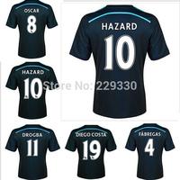 New Top! Best Thai Quality 14/15 Chelsea Soccer Jerseys,Chelsea fc 2015  DROGBA OSCAR TORRES HAZARD DIEGO COSTA Jersey