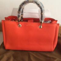 women leather handbags famous brand bamboo women tote 323660 cowhide leather women messenger bags magnetic buckle women handbag