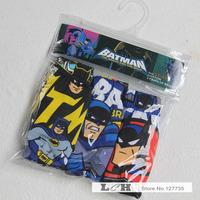 Baby Boys Kids Boxer Briefs Batman Panties Set Cartoon Cotton Underpant Underwear calcinha