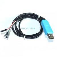 Free Ship 5pcs/lot PL2303 TA USB TTL RS232 Convert Serial Cable PL2303TA Compatible Win XP/VISTA/7/8/8.1 better than pl2303hx