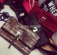 Brand korss Designer desigual  magazine Women Luxury Clutch Bags women messenger bag party evening celebrity  handbag sac femme