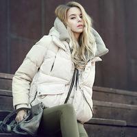 winter coat women 2014 new luxury 95% whiter duck down jacket outerwear winter jacket parka