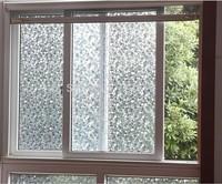No glue stati cling stone design window glass film sticker  bathroom office kitchen width40/50/60*200cm privacy