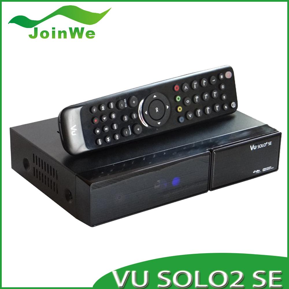 3pcs/lot VU solo 2 se twin tuner,2DVB-S2 upgraded from VU solo2 mini Satellite Receiver Linux 1300 MHz CPU Mini Vu solo2 SE(China (Mainland))
