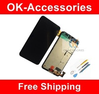 1PC / Lot Touch Screen Digitizer + LCD Display Digitizer Assembly With Frame + Free Tools For Nokia Lumia 630 N630 Free Shipping