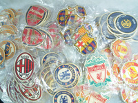 Free shipping  BAKALA hot sale famous football club paper car air freshener for promotional  perfumer paper AAA
