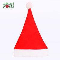 Christmas tree decoration non-woven christmas hats hat cloth Christmas supplies 16g