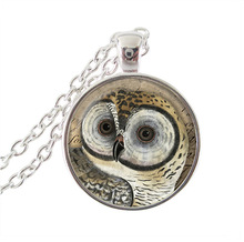 new 2015 hot sale owl necklace bird jewelry animal pendant necklace choker necklace woodland forest vintage Jewelry wholesale