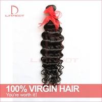 Brazilian Deep Wave Virgin Hair Bundles 5 or 6pcs Lot Cheap Unprocessed Brazillian Deep Curly Hair Extensions Cheap Human Hair