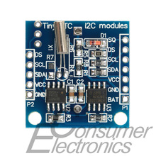 1pcs AT24C32 Real Time Clock RTC I2C DS1307 Module for AVR ARM PIC 51 ARM Newest!(China (Mainland))